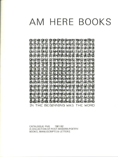 Am Here Books Catalogue