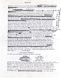 Brion Gysin Letter, p1