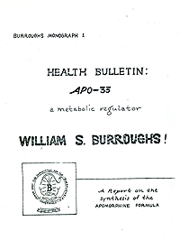 William S. Burroughs, APO-33, Fuck You Press edition