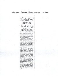 APO-33, Fuck You Press, 1965, Article from Sunday Times
