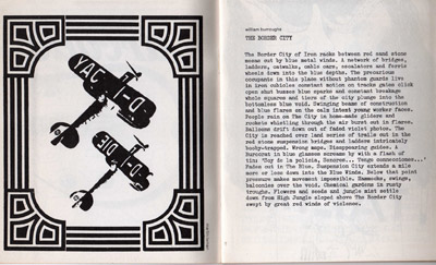 Arcade 1, The Border City by William Burroughs