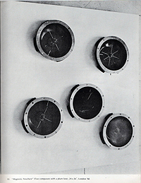 takis, magnetic sculpture, exhibition catalogue, 1967, magnetic nowhere