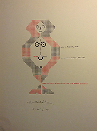 Henri Chopin in Ruby Editions, Portfolio 1, 1974
