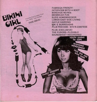 Bikini Girl, Vol 1, No 4, front cover