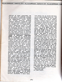 Bulletin from Nothing 1, William S. Burroughs