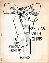 Ted Berrigan, Living with Chris