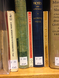 Freud on the shelves