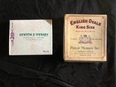 Benson & Hedges and English Ovals