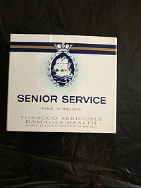 Senior Service cigarettes