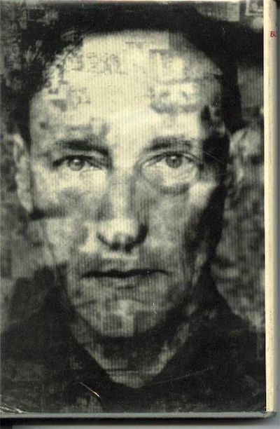 Photograph of William Burroughs on the back of Dead Fingers Talk
