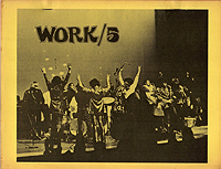 MC5 on the cover of John Sinclair's WORK