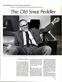 The Old Smut Peddlar (Barney Rosset) in Life Magazine, 29 August 1969