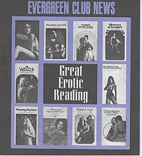 Evergreen Club News, Great Erotic Reading