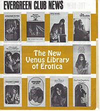 Evergreen Club News, New Venus Library
