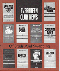 Evergreen Club News, Of Studs and Swapping