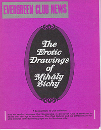 Evergreen Club News, The Erotic Drawings of Mihaly Zichy