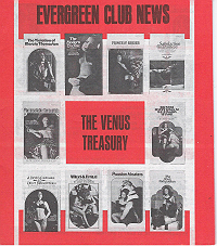 Evergreen Club News, The Venus Treasury