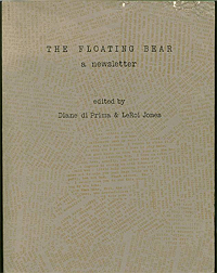 Diane Di Prima and LeRoi Jones, eds, The Floating Bear Collection