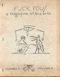 Fuck You, A Magazine of the Arts, Volume 5, Number 4 (1963)