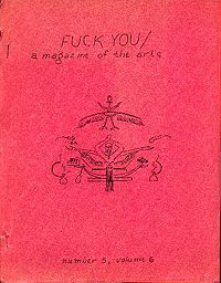 Fuck You, A Magazine of the Arts, Volume 5, Number 6 (April/May 1964)