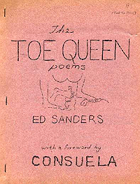 Ed Sanders, The Toe Queen Poems (1964)