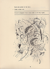 William S. Burroughs, Abstract, Lip