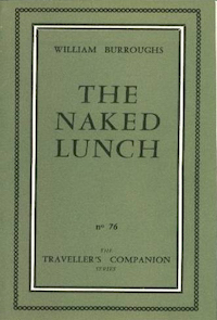 William S. Burroughs, The Naked Lunch, Olympia Press, 1959, front