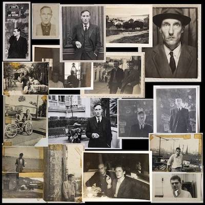 William Burroughs photographs from the Melville Hardiment suitcase; archive courtesy of Ken Lopez Books