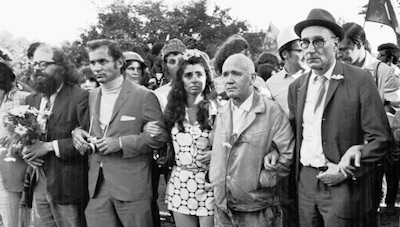 Chicago 1968 : Allen Ginsberg, Richard and Jeanette Seaver, Jean Genet, William Burroughs