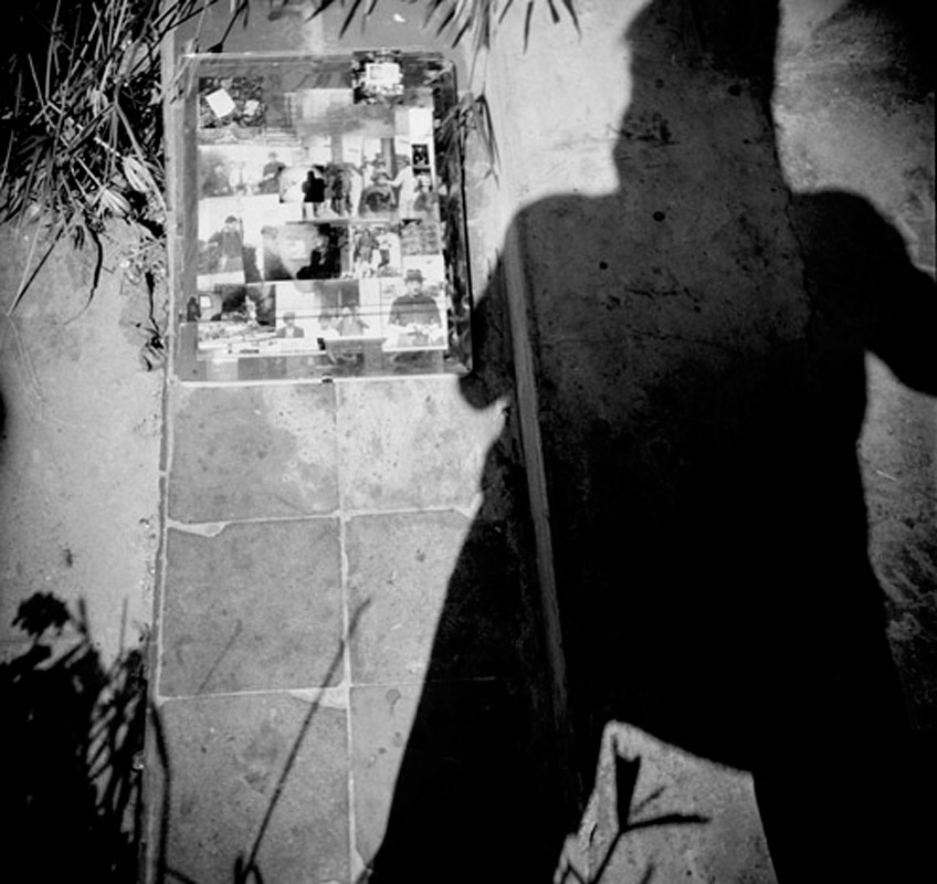 William Burroughs and his shadow