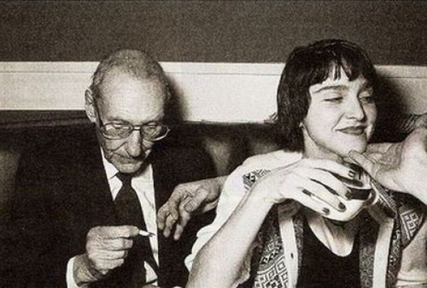 William S. Burroughs and Madonna