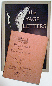 William S. Burroughs, Yage Letters and Roosevelt after Inauguration
