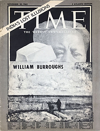 William S. Burroughs, Time, Front Cover, C Press, 1965