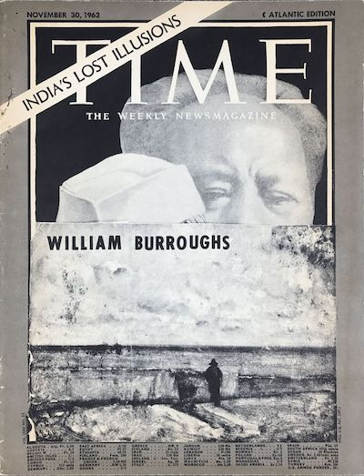 William S Burroughs, Time, C Press, 1965, front cover