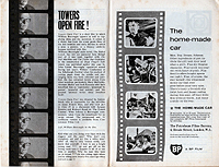 Film, Autumn 1963, Towers Open Fire screenplay (page 1)