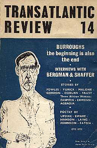 Transatlantic Review 14 (with drawing of William Burroughs by Heathcote Williams)