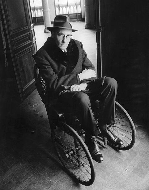 William S Burroughs in a Wheelchair, 9 Sept 1966