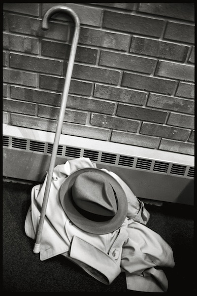 Abe Frajndlich, Burroughs' Hat and Cane, 1984
