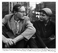Allen Ginsberg, William Burroughs and Alene Lee, Fall 1953