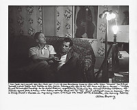 Allen Ginsberg, William Burroughs lecturing Jack Kerouac, Fall 1953