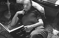 William Burroughs reading St-John Perse, photograph by Allen Ginsberg, 1953