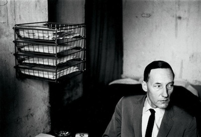 William Burroughs at the Beat Hotel, 1961, photograph by Harold Chapman