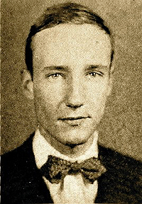 William Burroughs in 1936 Harvard Yearbook