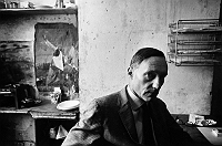 William Burroughs in Paris, ca 1962