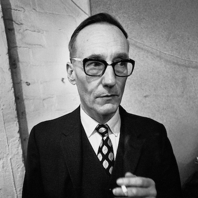 William S Burroughs Looking Paranoid