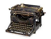William Burroughs typewriter from Bonham's auction, June 2019