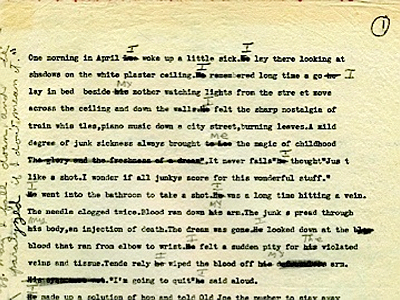 William S. Burroughs, Queer Draft