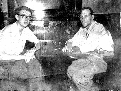 Eugene Allerton and William Burroughs