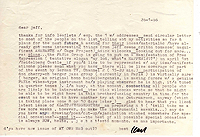 Letter, Carl Weissner to Jeff Nuttall, 26 January 1966