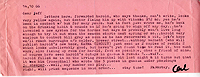 Letter, Carl Weissner to Jeff Nuttall, 14 October 1966